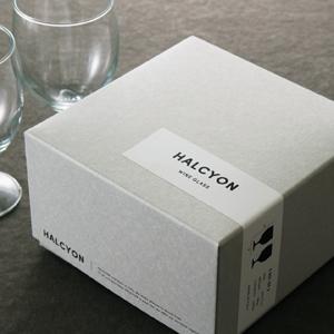 グラスの商品パッケージ