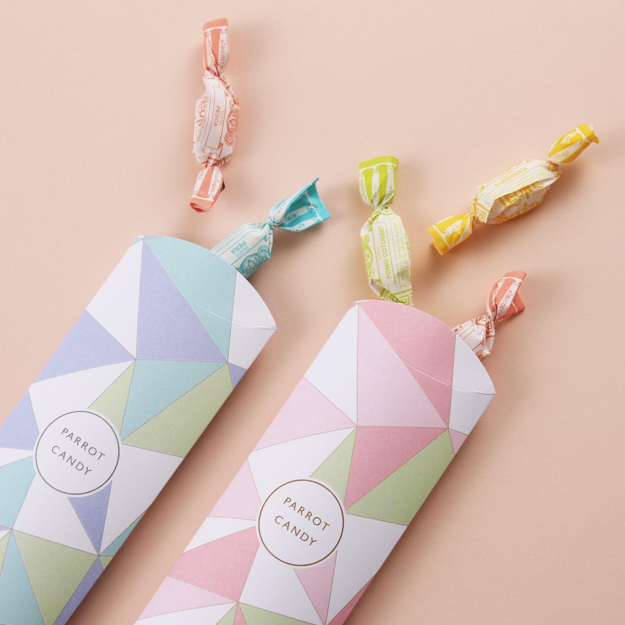 キャンディメーカーの商品パッケージ