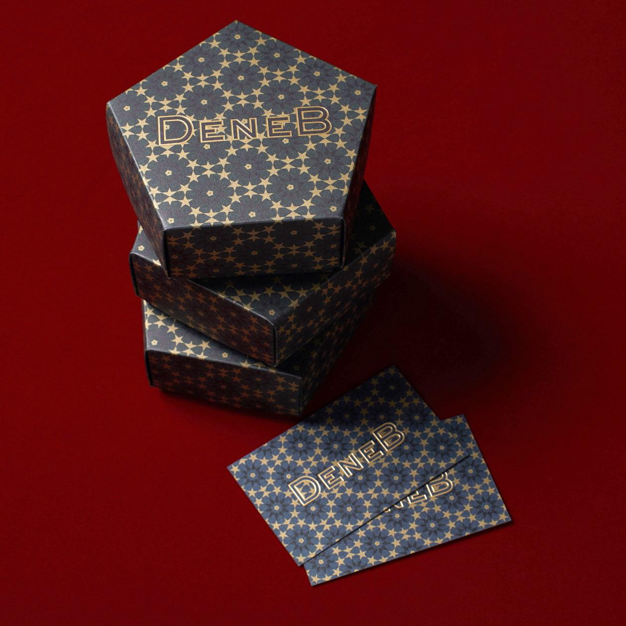 ビンテージ感のある五角形のジュエリーBOX