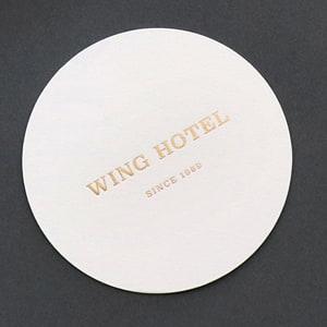 ホテルのコースター