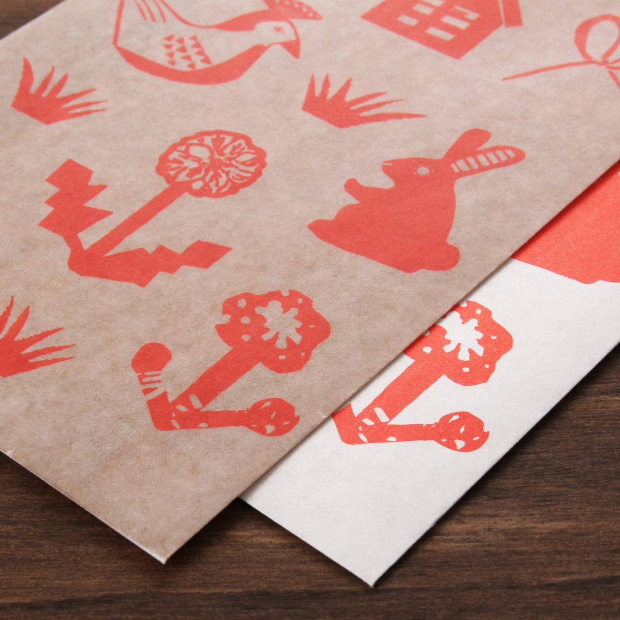 ロウ引きの封筒