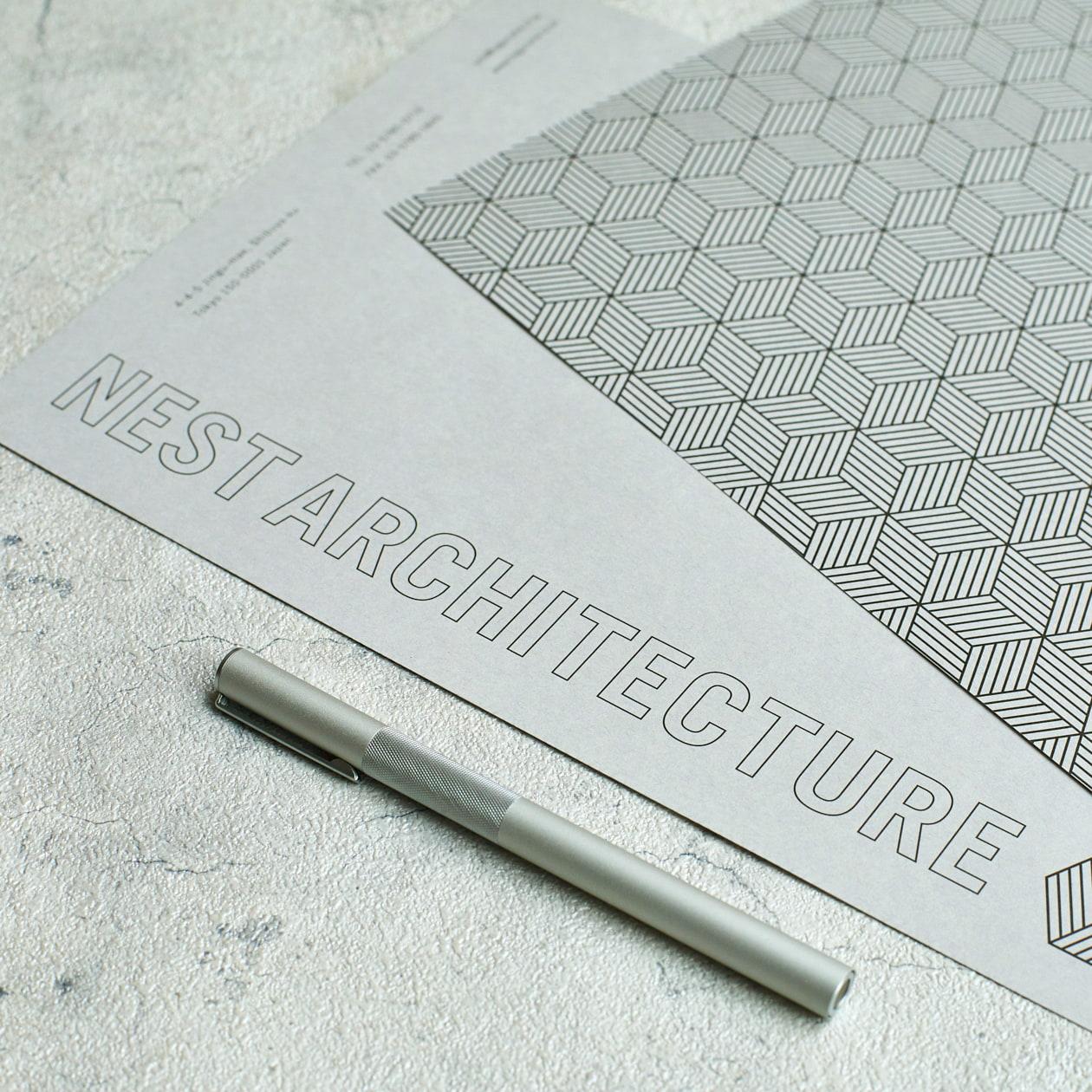 建築デザイン事務所のビジネスステーショナリー