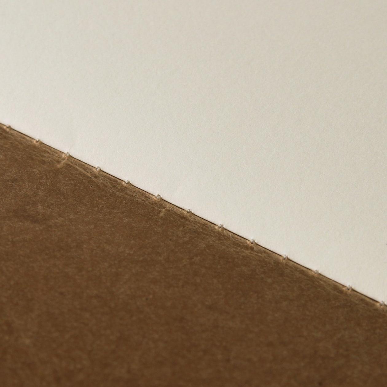 ロウ引きの表紙でクラフト&アンティークなZINE