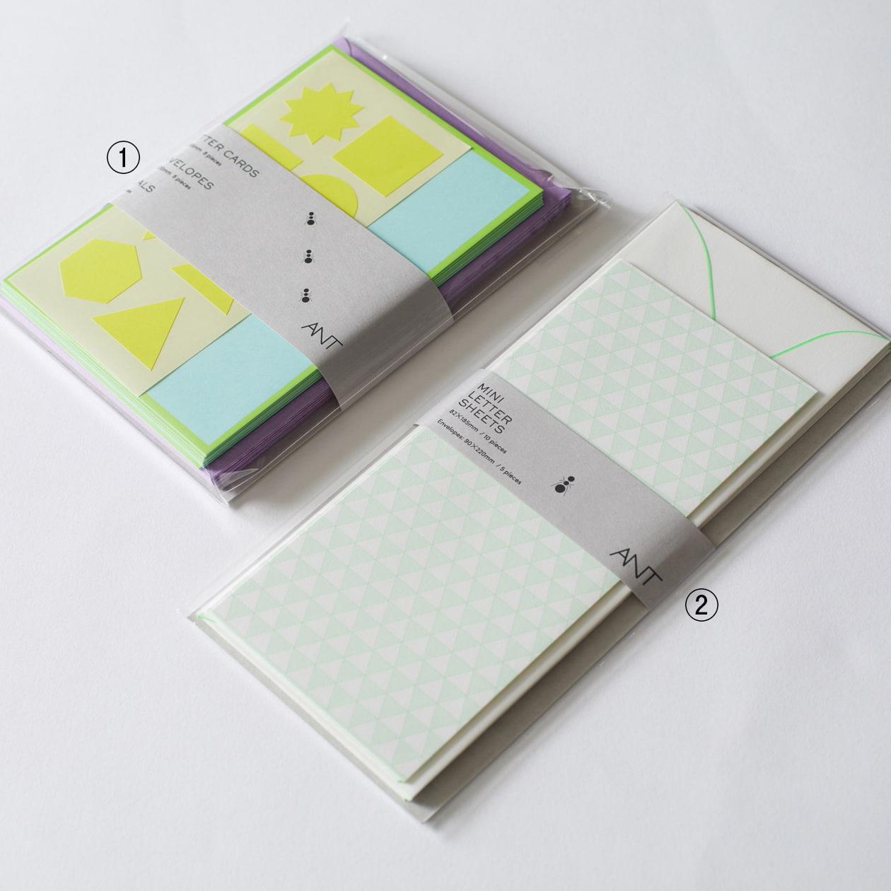 ペーパープロダクトのレターセット帯