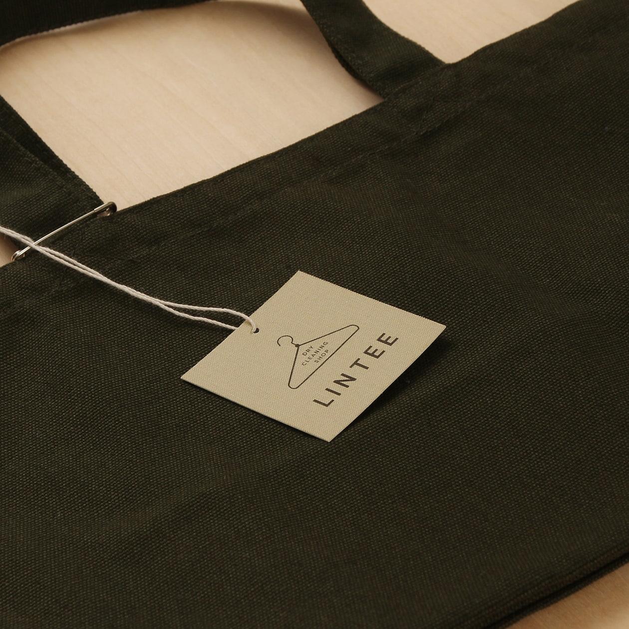 布の触感の商品タグ