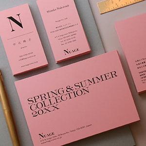 春夏コレクションの招待状