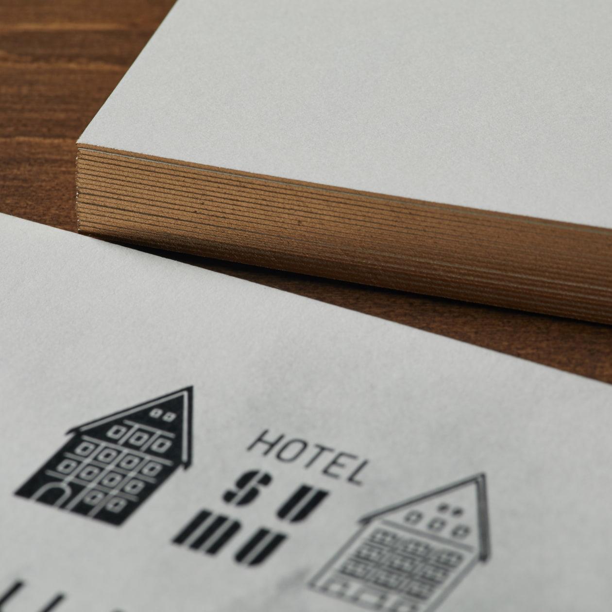 リゾートホテルのランチイベント 案内DM
