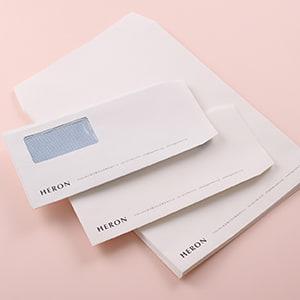 自然な風合いを感じる素材の社用封筒