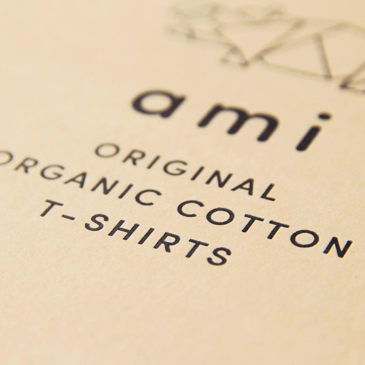 Tシャツの商品パッケージ