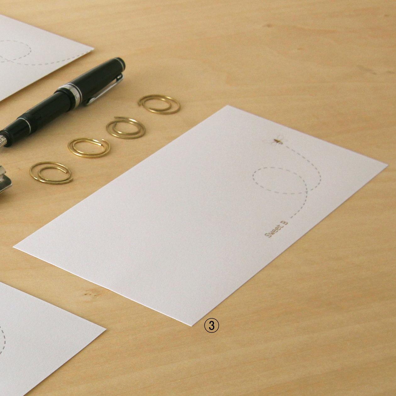 デザインと加工で楽しむレターヘッド