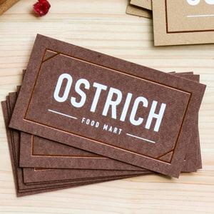 マルシェやオーガニック系のイメージに合うカード
