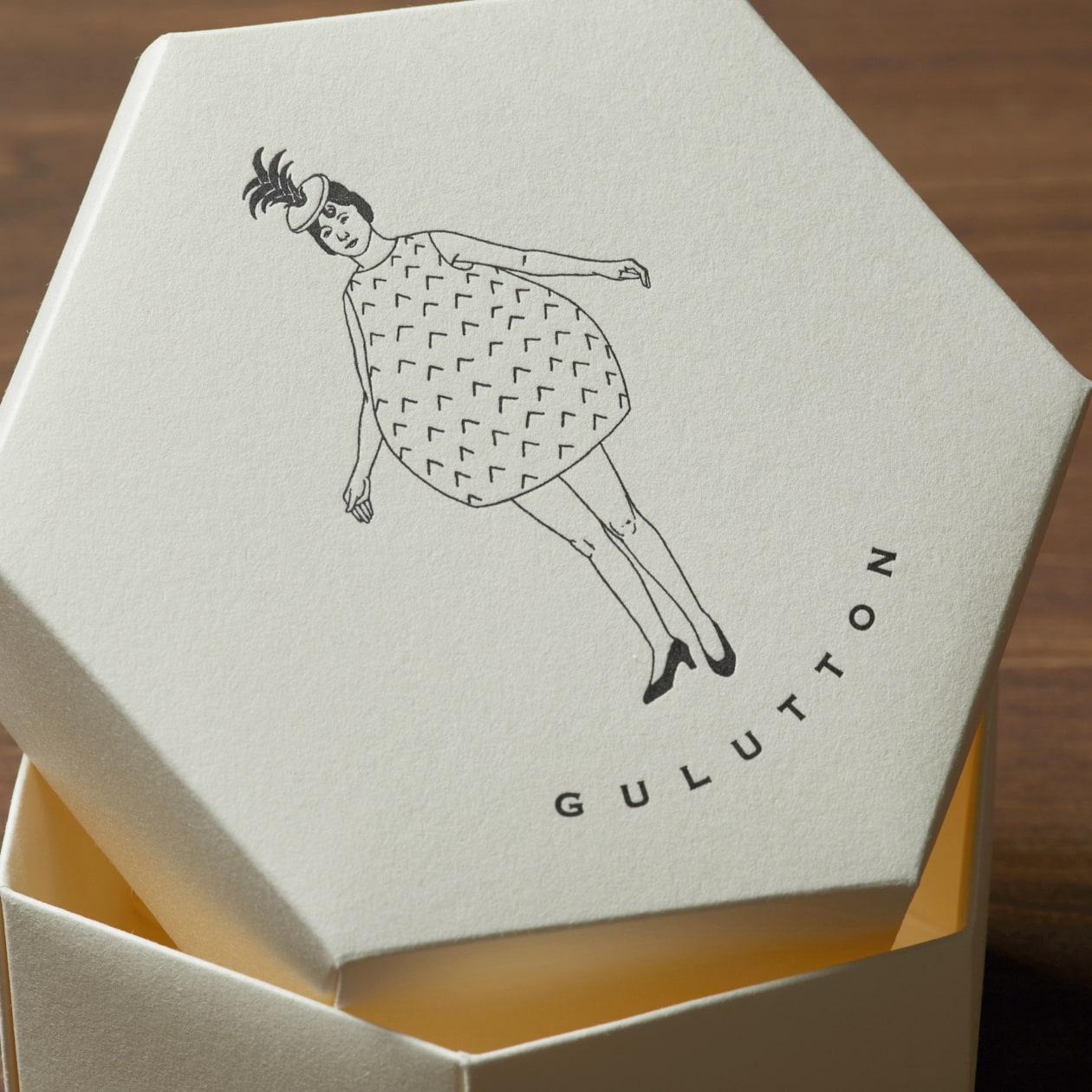 展示会やパーティーのギフトに六角形BOX