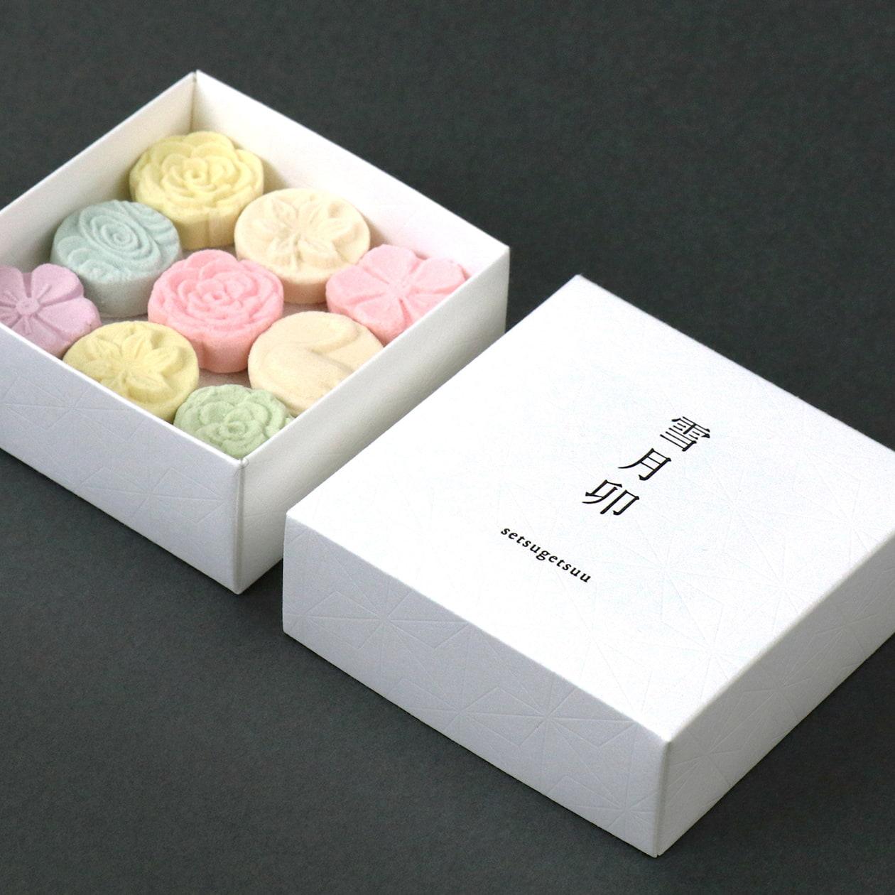 和菓子の商品パッケージ