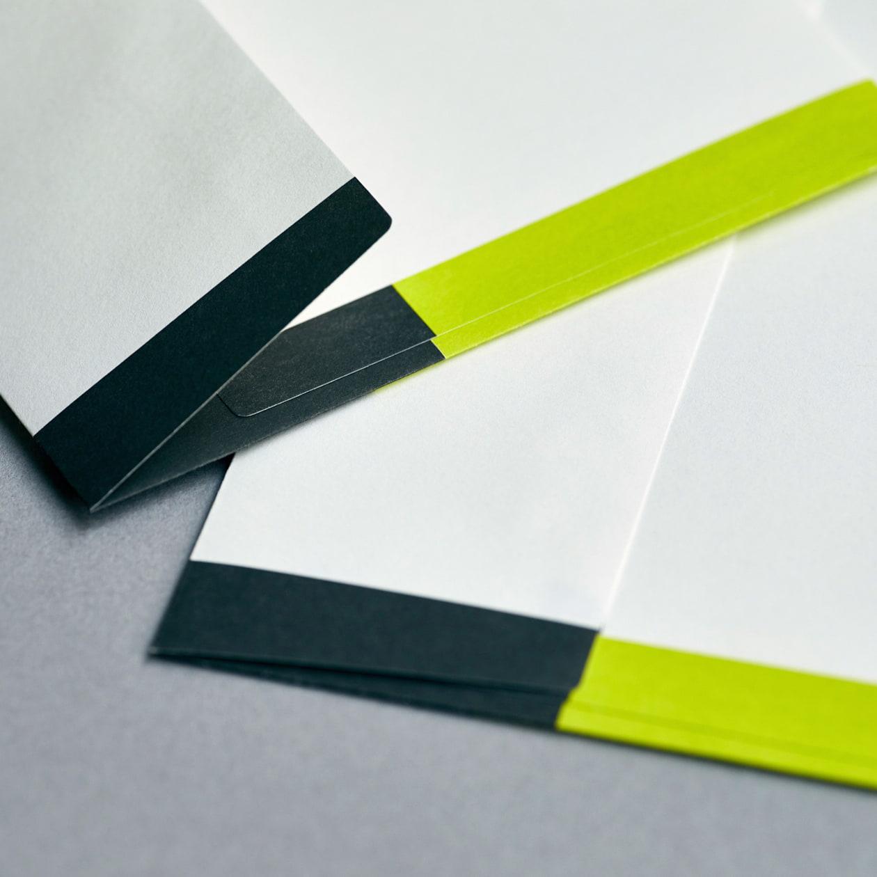 設計・建築事務所の社用封筒
