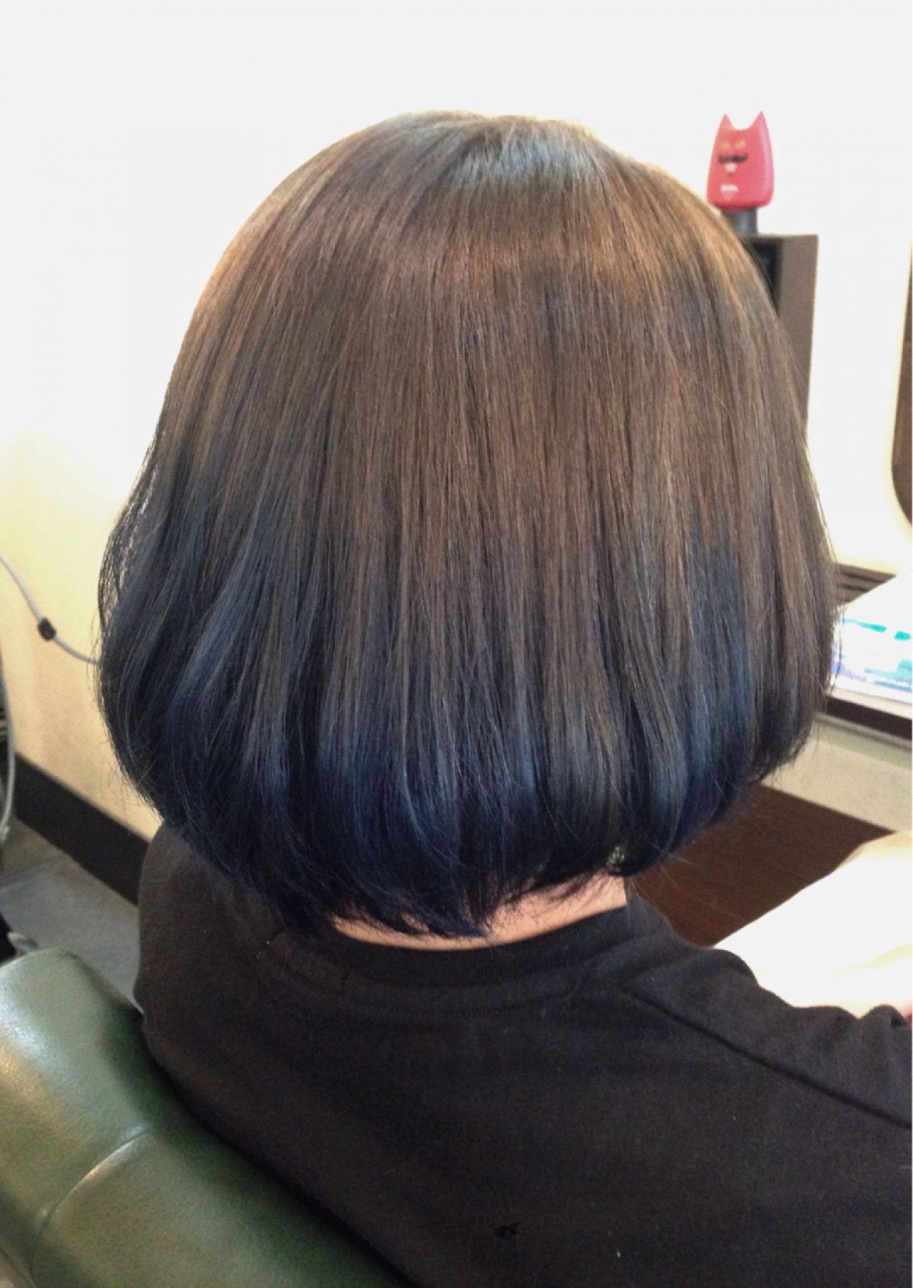 人と被らない私だけのスタイルに。ボブ×グラデーションカラーのヘアスタイルまとめ 野口 輝/vicushair