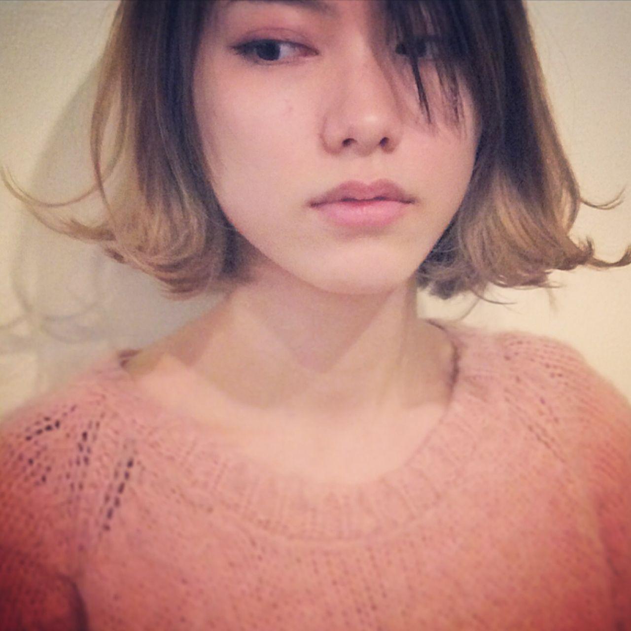 人と被らない私だけのスタイルに。ボブ×グラデーションカラーのヘアスタイルまとめ 細田真吾