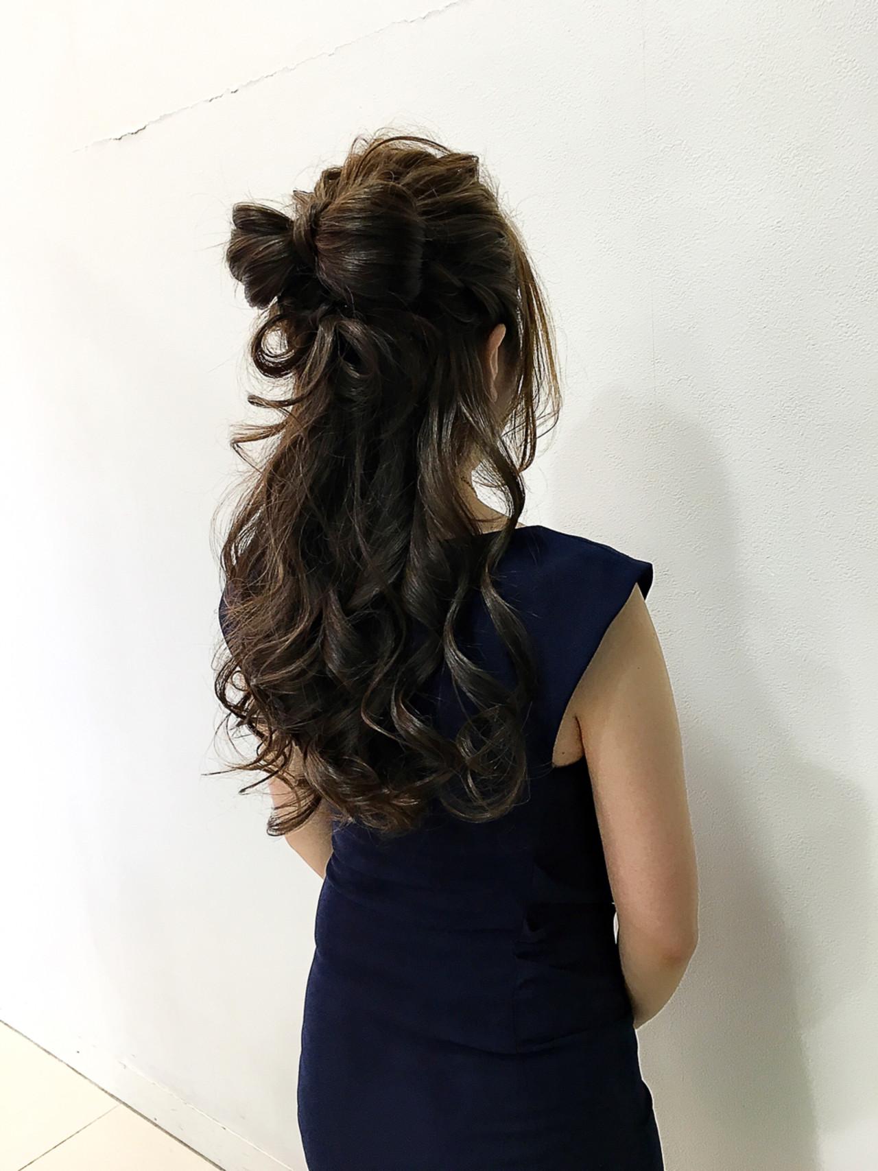実は簡単!自分の髪でリボンを作ると誰でもかわいい髪型に 飯島 裕介