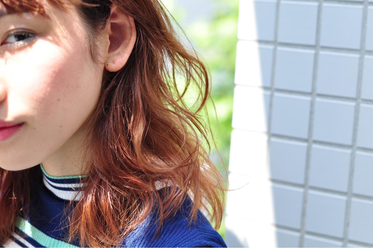 ナチュラル パーマ 大人女子 ヘアメイク ヘアスタイルや髪型の写真・画像