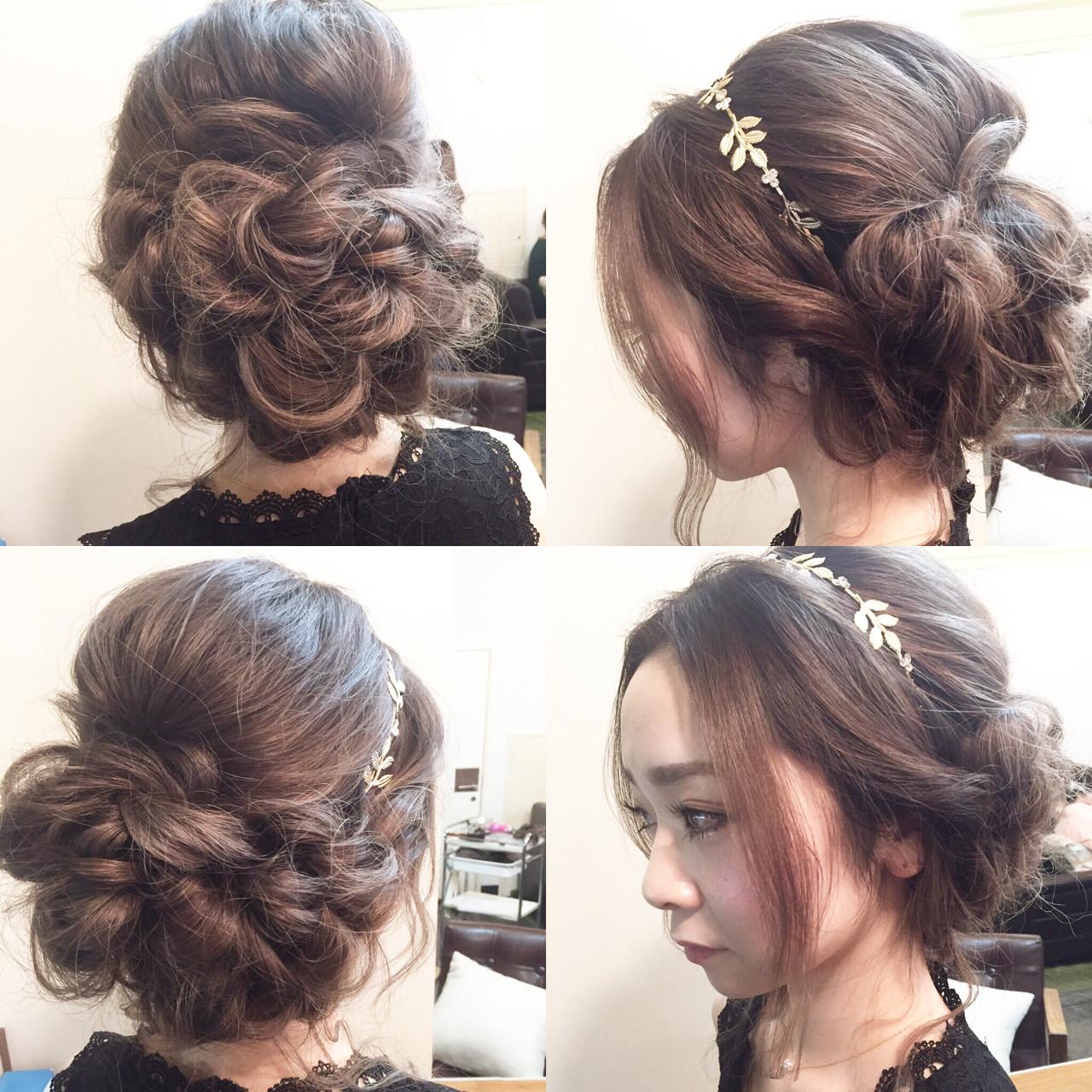 結婚式・お呼ばれに。おすすめアップのヘアスタイルとセルフアレンジ法 田渕 英和/vicushair