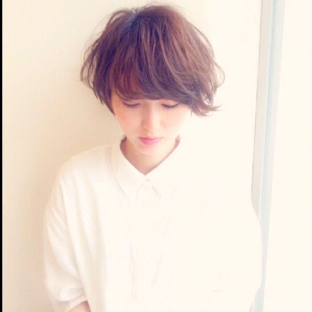可愛いショートをつくるなら。ショートの巻き髪と巻き方のコツ  Kaneko Mayumi