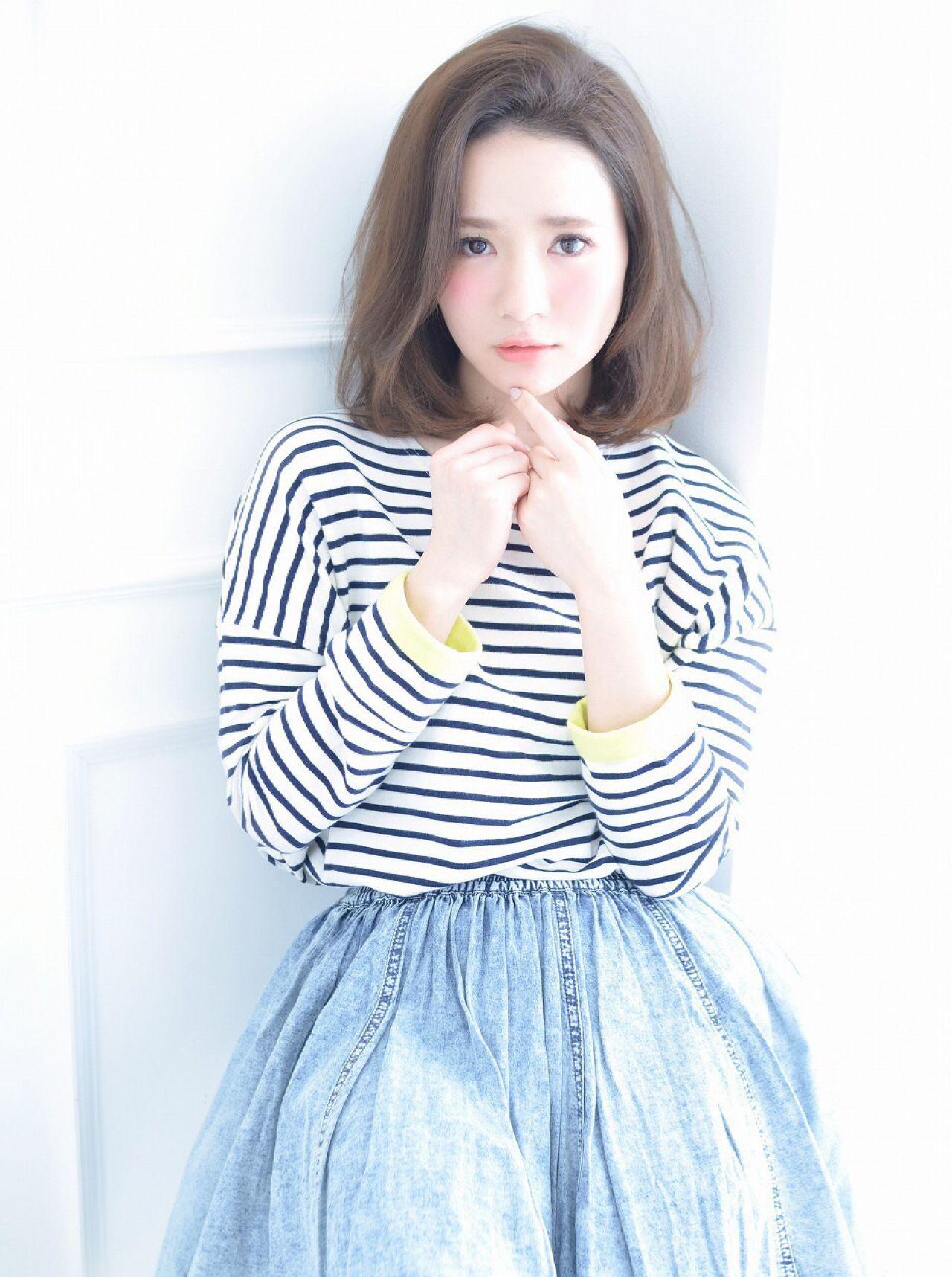 """今のモテ髪型といえばこれ。""""ロブ""""ヘアで女性らしさを演出したい 清井 慎二"""