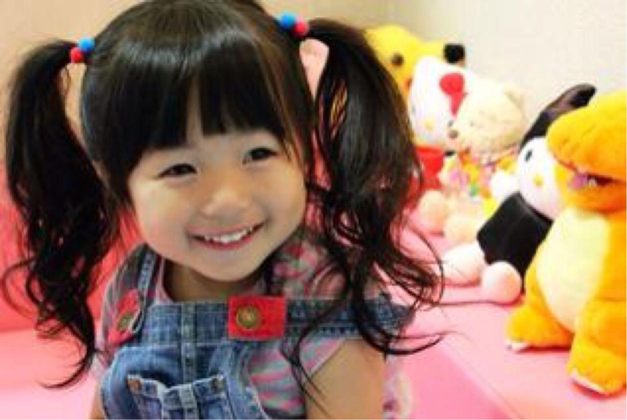 かわいい 子供 ヘアスタイルや髪型の写真・画像