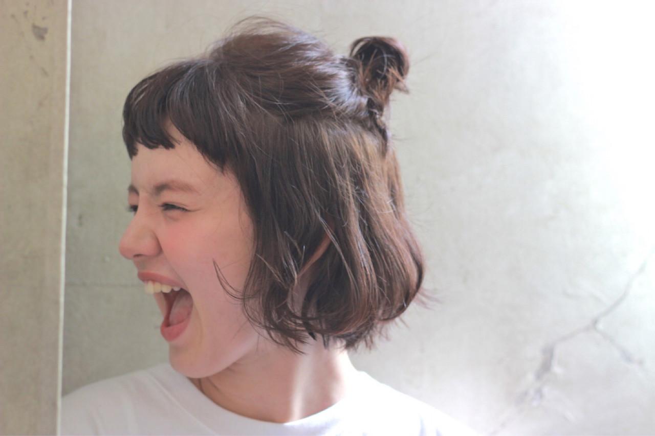 短くても大丈夫!忙しい朝のショートヘアの時短ハーフアップ  冨永 真太郎 Henri