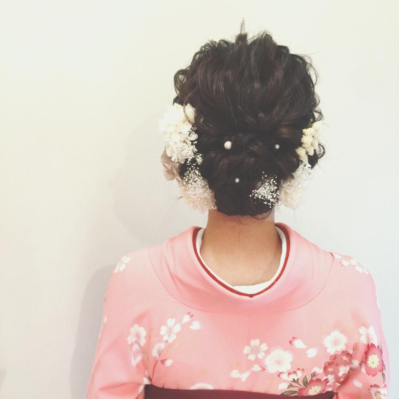 成人式・卒業式におすすめ。着物に合わせたいヘアスタイルまとめ  ヤマキタ トシキ ネオリーブ