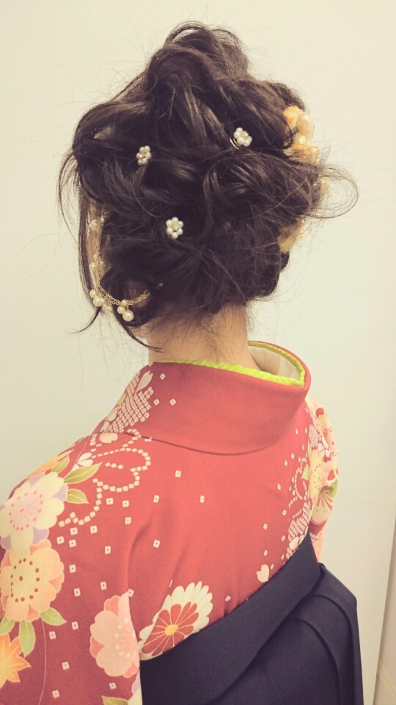 成人式・卒業式におすすめ。着物に合わせたいヘアスタイルまとめ  minori kato