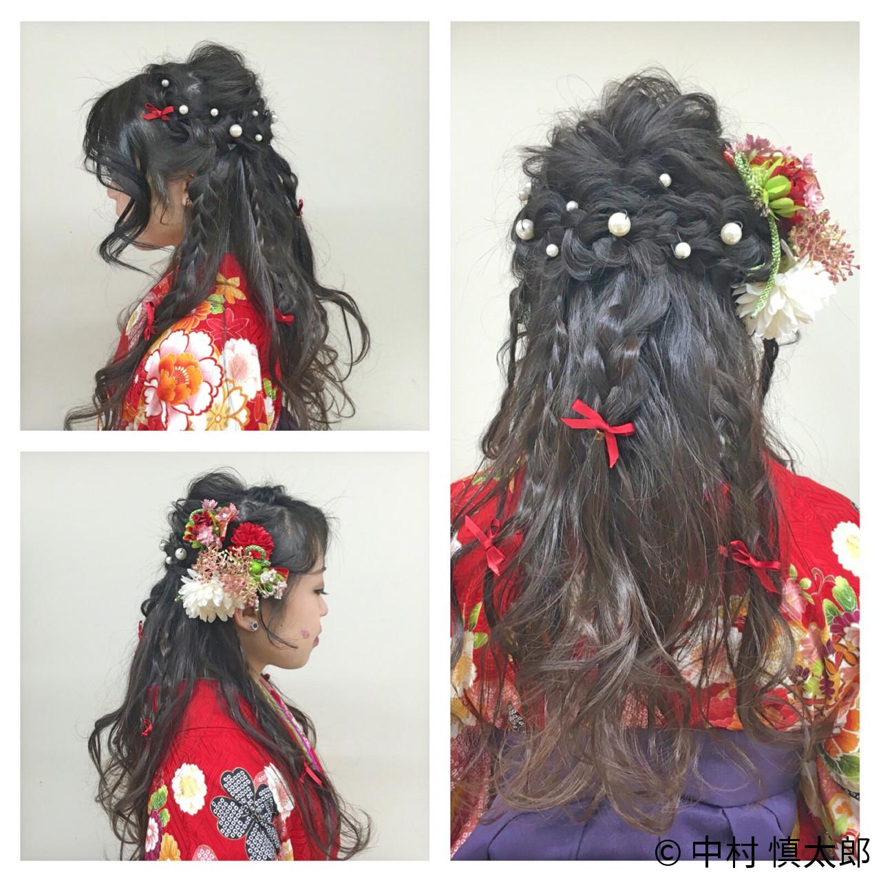 成人式・卒業式におすすめ。着物に合わせたいヘアスタイルまとめ  中村 慎太郎