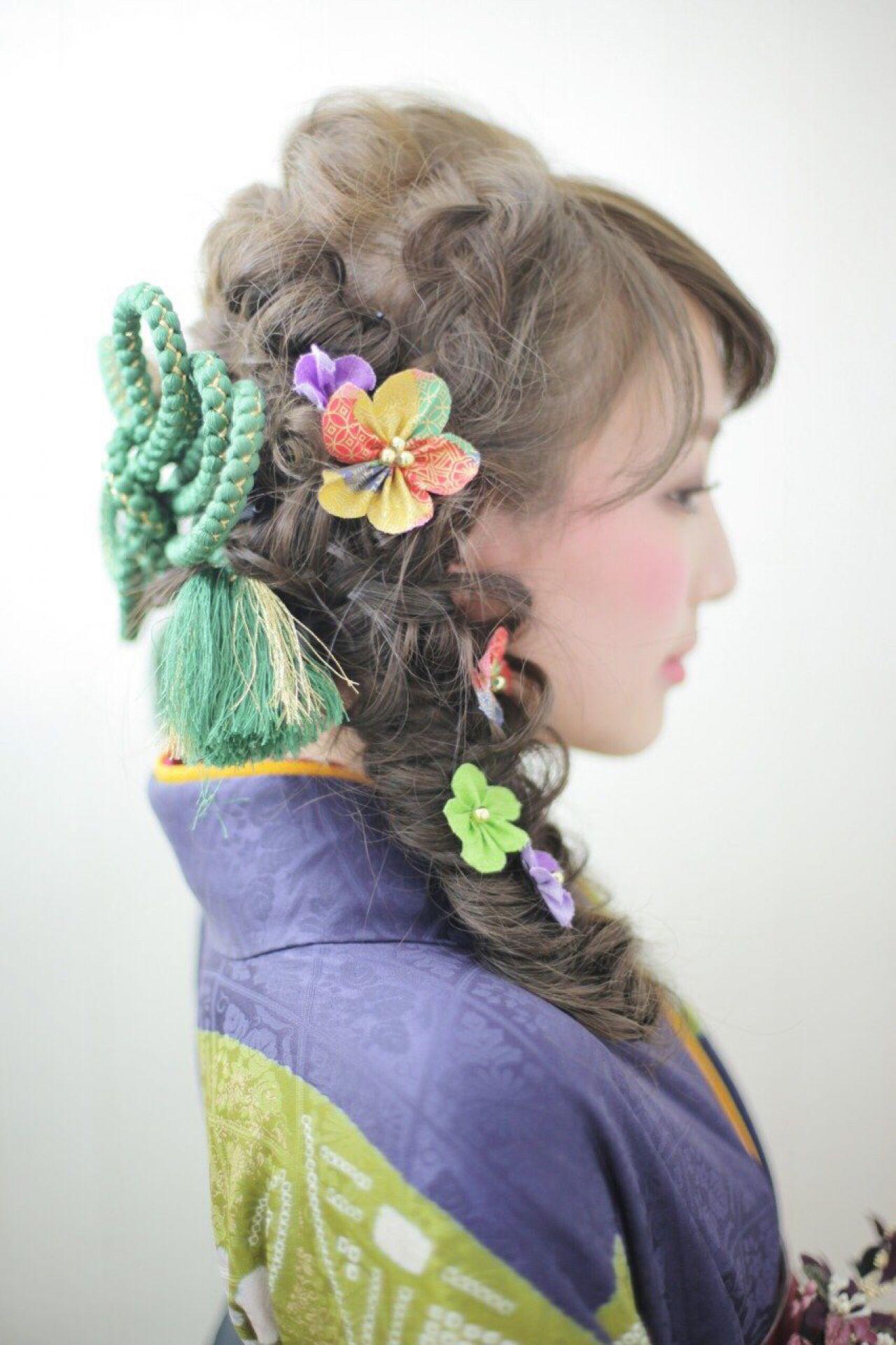 成人式・卒業式におすすめ。着物に合わせたいヘアスタイルまとめ  長江 里穂子