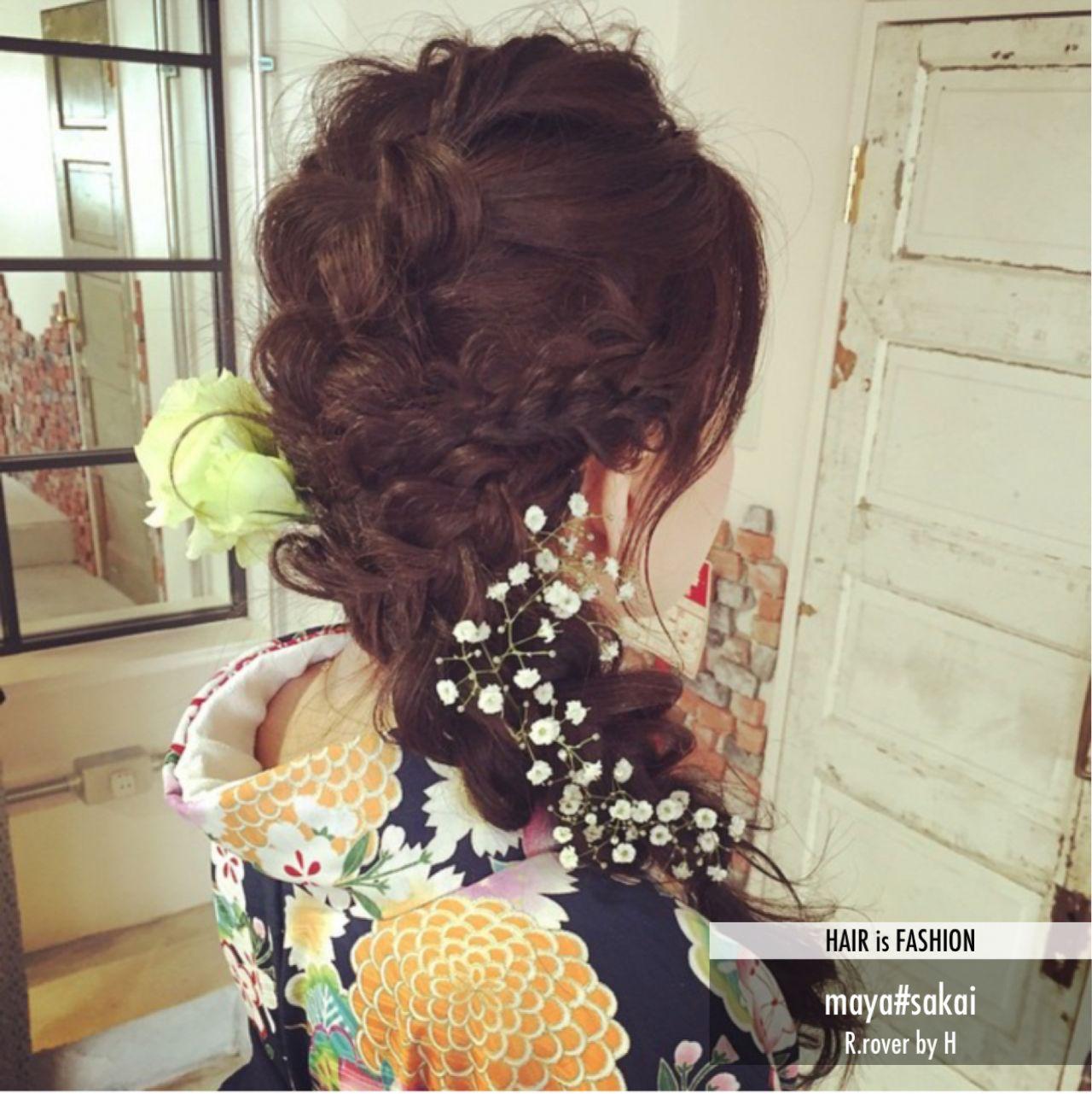成人式・卒業式におすすめ。着物に合わせたいヘアスタイルまとめ  maya sakai