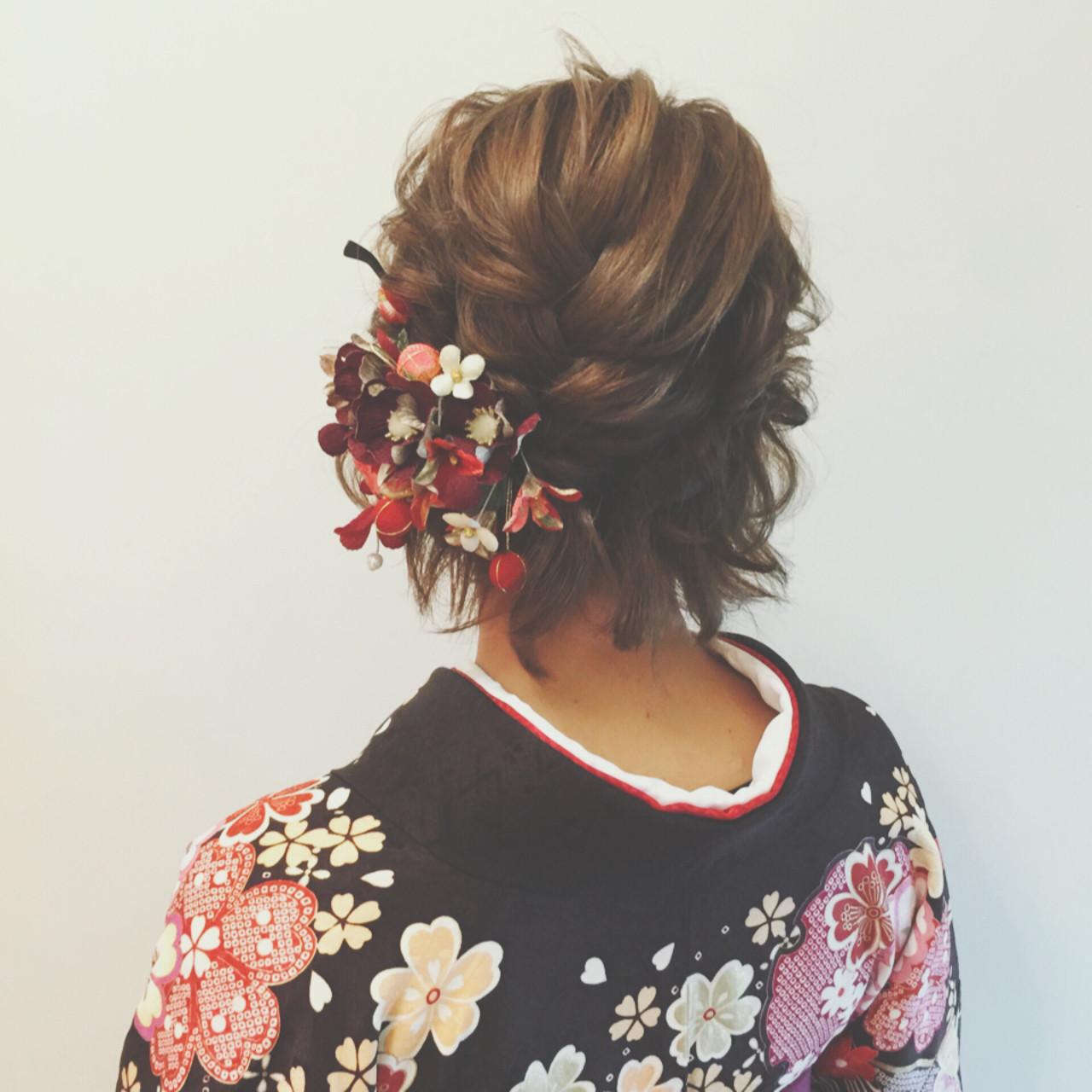 成人式・卒業式におすすめ。着物に合わせたいヘアスタイルまとめ  ヤマキタ トシキ
