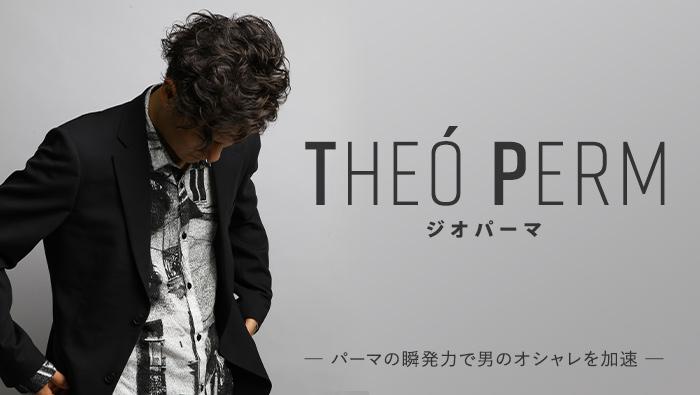 THEÓ PERM (ジオパーマ) -パーマの瞬発力で男のオシャレを加速-