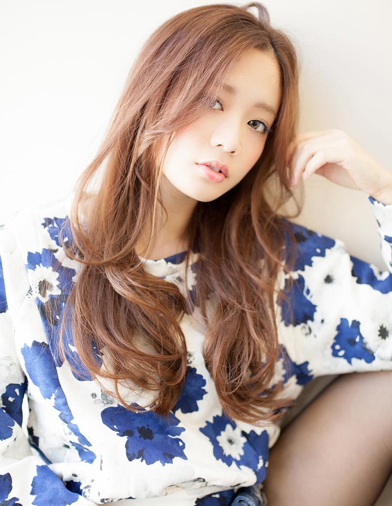 前髪長めロングニュアンスTA−301