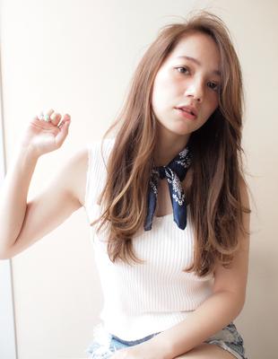 胸下ロング かきあげバング (YU-208)