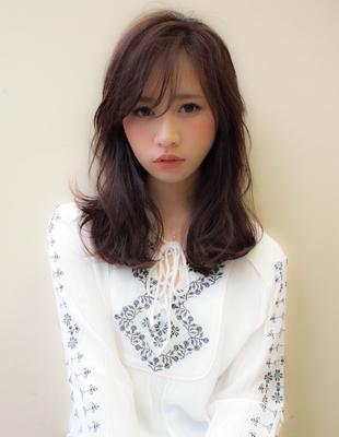伸ばしかけミディアムヘア (YU214)