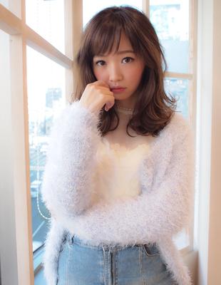 冬の巻き髪 (YU-216)