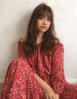 ロング巻き髪 エスウィートカラー(YU-222)