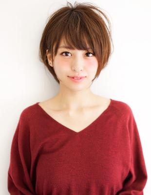 小顔ショートヘア(MO-387)