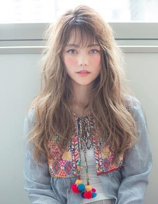 透明感のある髪型(YG-564)
