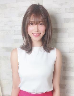 田中みな実ちゃん風外ハネくびれミディアム(WA-561)