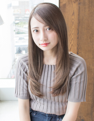 安室奈美恵さん風フェザーロングストレート(AS-180)
