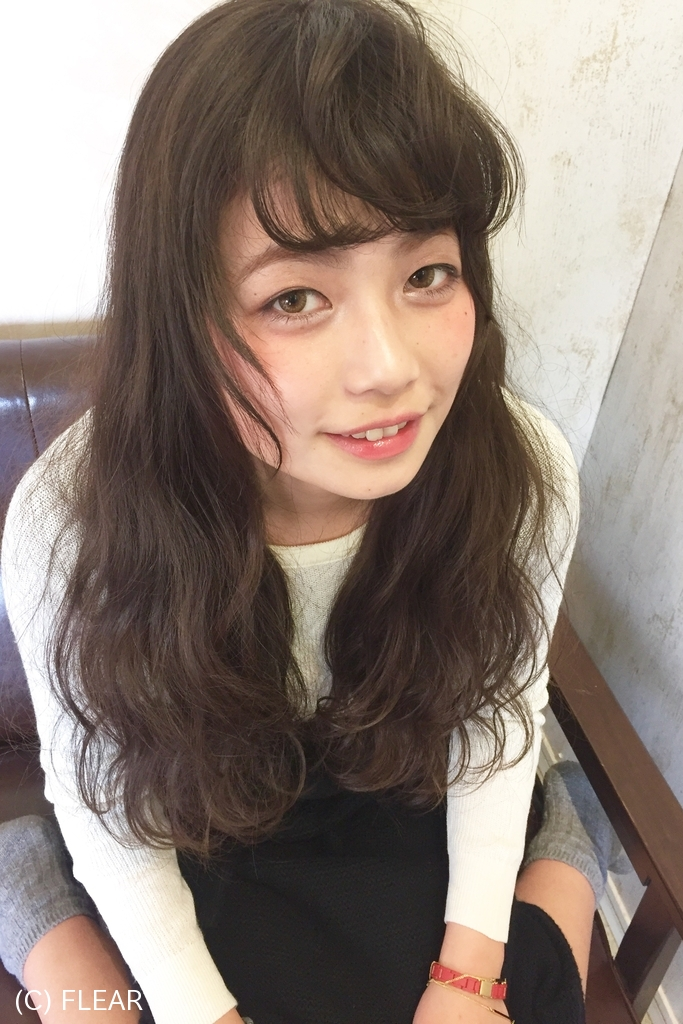 ガーリーウェーブスタイル★デジタルパーマ編