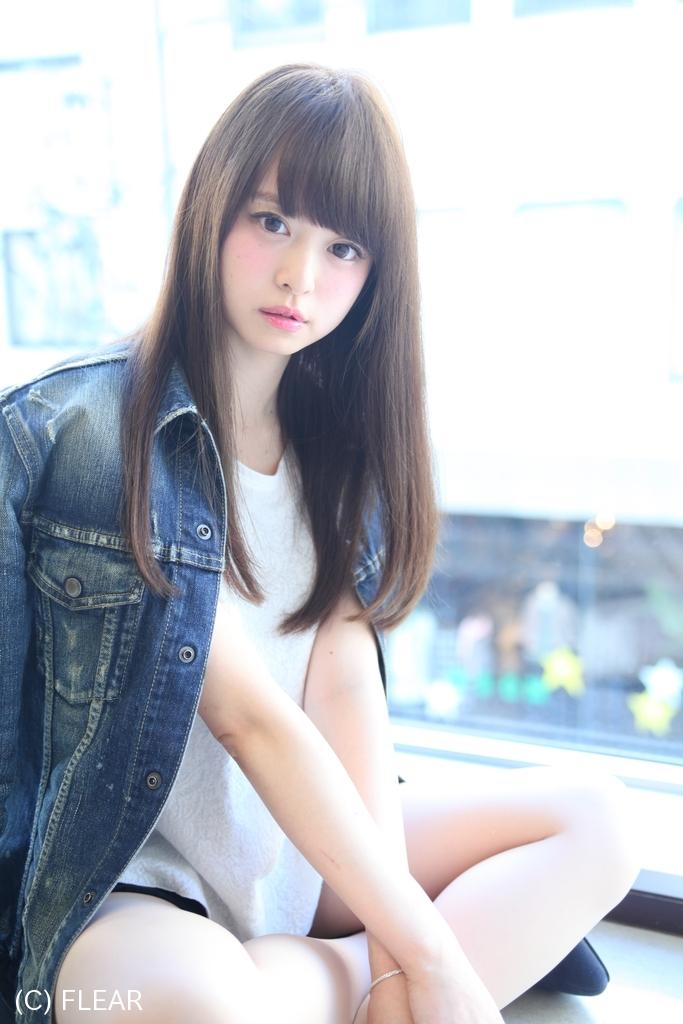 カットだけで決まる!!大人可愛いストレートスタイル#松本Style