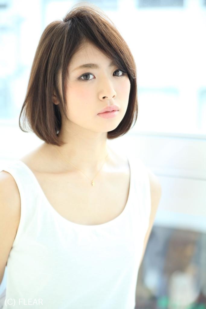 30代むけ☆大人清楚なボブスタイル@松本