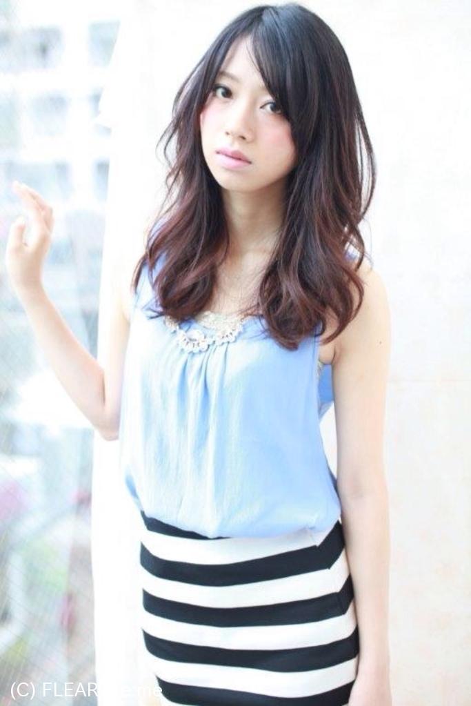 スタイリングが簡単なデジタルパーマスタイル☆