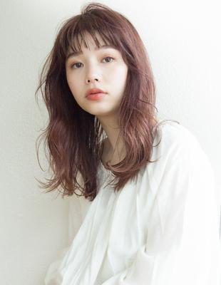 ゆるウェーブ かわいい髪型 オン眉(SH-169)
