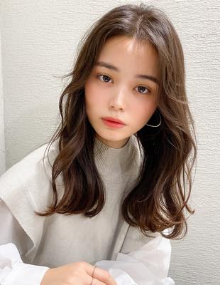 ロングレイヤー韓国風前髪(SH−229)