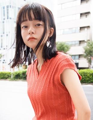 ぱっつん前髪×切りっぱなしlob(SR-18)